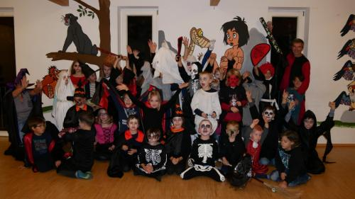 Halloweenparty am 22.10.2018